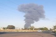 آتش گرفتن کارخانه مواد غذایی در اتوبان کرج - قزوین / جزئیات