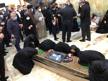 پیکر حجتالاسلام محتشمیپور به خاک سپرده شد