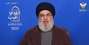 حسن نصرالله: برای مردم لبنان از ایران بنزین میخریم