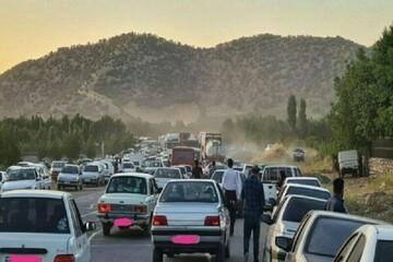 برخورد خونین پنج خودرو در مریوان / ۲۴ نفر کشته و زخمی شدند