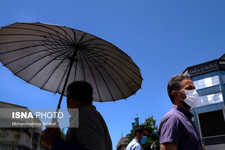 گزارش آب و هوا ۱۸ خرداد ۱۴۰۰ / هوا در ۶ استان گرم میشود