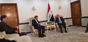 دیدار خطیبزاده با وزیر خارجه عراق