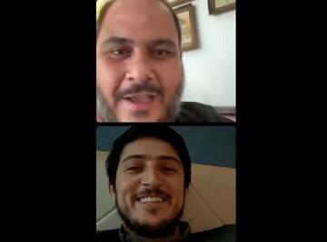 صحبتهای جالب سردار آزمون در لایو با آقای بازیگر / فیلم