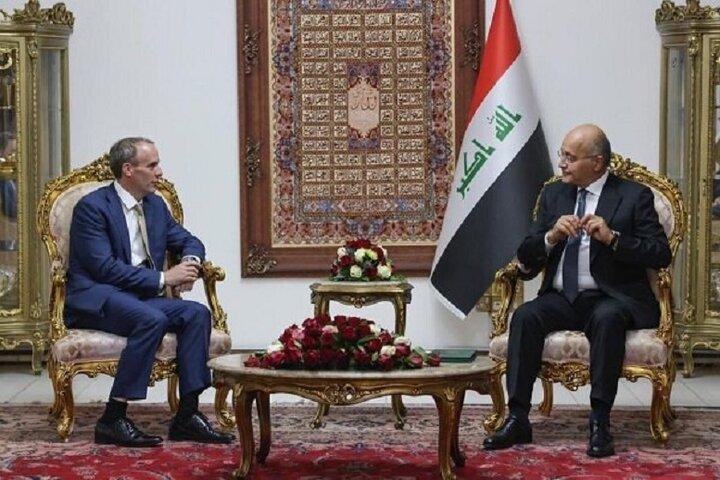امضای توافقنامه راهبردی میان انگلیس و عراق