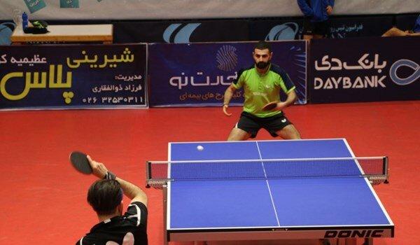 دیدار جذاب تماشایی برادران پینگ پنگ باز ایرانی در مسابقات جهانی / فیلم