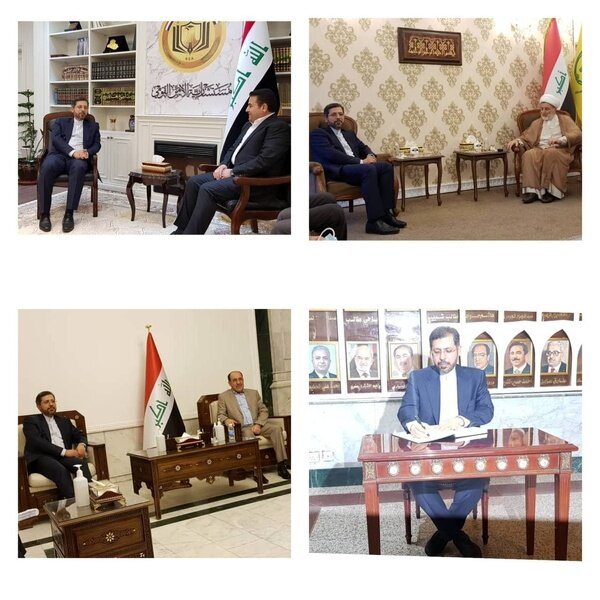سعید خطیبزاده وارد بغداد شد