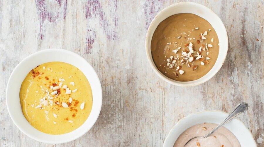 طرز تهیه حریره بادام   نکاتی برای خوشمزه شدن فرنی بادام ؛ غذایی مقوی برای کودکان