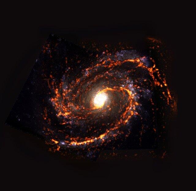تصاویر شگفتانگیز از محل تولد ستارهها