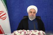 روحانی: آمریکا چاره ای جز رفع تحریم ندارد | خدا نگذرد از کسانی که مانع روابط ما با همسایگان شدند / فیلم