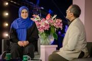 حضور اولین زن وزنهبردار مدالآور ایرانی در برنامه «خندوانه» / عکس