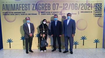 «دیوار چهارم» با حضور سفیر ایران در کرواسی به نمایش درآمد