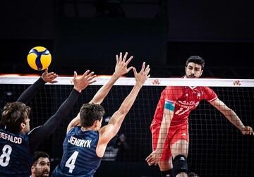 خلاصه دیدار ایران ۳-۰ آمریکا در مقدماتی لیگ ملتهای والیبال / فیلم