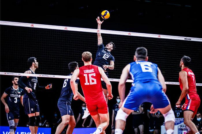 صربستان روند پیروزیهای والیبال ایران را متوقف کرد