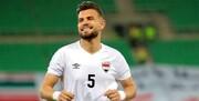 رسیدن ستاره سرشناس عراق به بازی با ایران پس از شکست کرونا