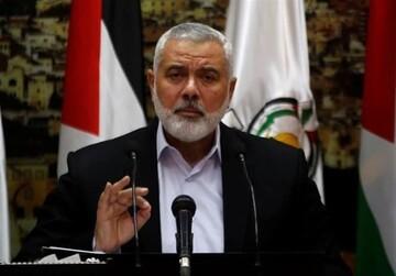 سفر رییس دفتر سیاسی جنبش حماس به ایران