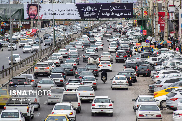 آخرین وضعیت ترافیکی راههای کشور در جمعه ۲۱ خرداد   ترافیک روان در محورهای هراز و فیروزکوه