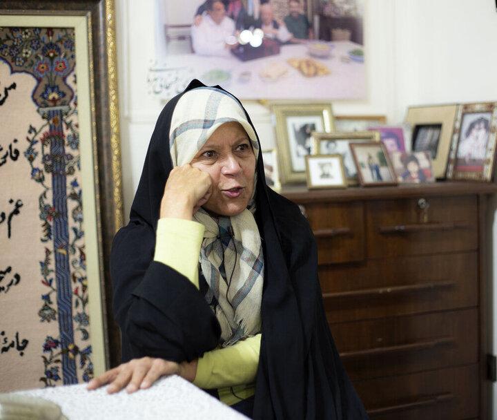 فائزه هاشمی: اگر پدرم زنده بود از همتی حمایت میکرد / فیلم