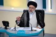 توضیحات رئیسی درباره تجمع انتخاباتی در خوزستان / فیلم