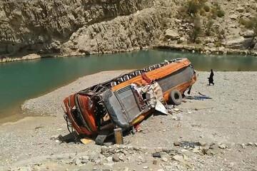 واژگونی اتوبوس در پاکستان ۱۸ کشته برجای گذاشت