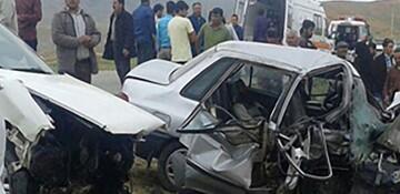 تصادف هولناک در جاده کرمان با ۸ کشته و زخمی