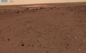 سلفی جالب روی سیاره مریخ! /  عکس