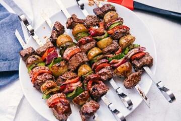 نحوه درست کردن شیش کباب؛ غذای سنتی لبنان