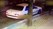 سرقت عجیب ماشین یک زن به سبک فیلمهای هالیوودی در یزد / فیلم