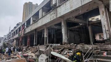 انفجار در مرکز چین ۱۱ کشته برجای گذاشت