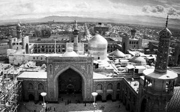 نمایش عکسهای قاجاری حرم مطهر رضوی در موزه ملک