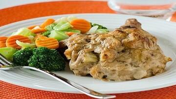 طرز تهیه خوراک گوشت شکم پر خوشمزه