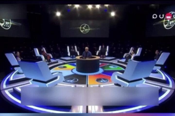 حضور بدل جواد عزتی و مصطفی کیایی در مسابقه دورهمی / فیلم
