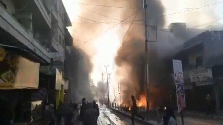 ۵۰ کشته و زخمی در حمله راکتی ترکیه به عفرین سوریه