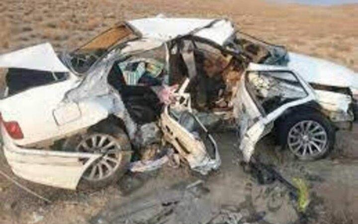تصادف پیکان و سمند ۴ نفر را به کشتن داد