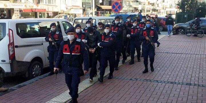 بازداشت ۱۴ مظنون مرتبط با گروه تروریستی داعش در ترکیه