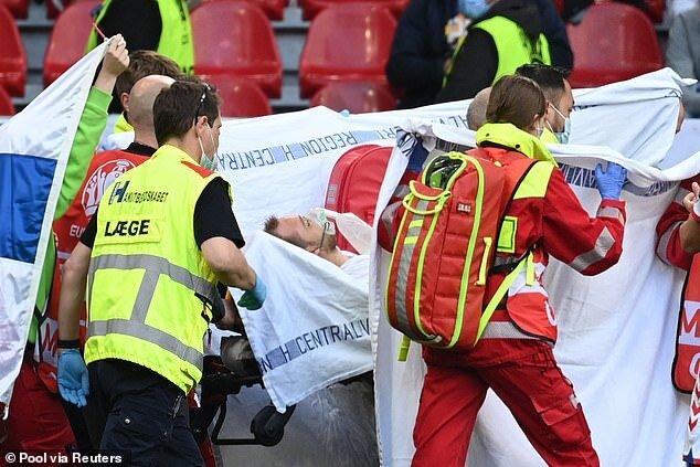 پزشک تیم ملی دانمارک از لحظات هولناک سکته اریکسن میگوید