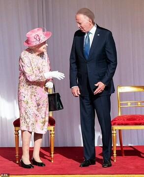 روایت بایدن از دیدارش با ملکه انگلیس