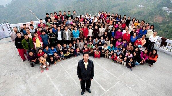 پدری که بزرگترین خانواده دنیا را داشت، درگذشت / عکس