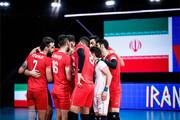 ترکیب تیم ملی والیبال ایران برابر استرالیا اعلام شد