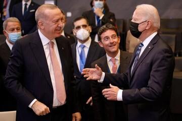 روایت اردوغان از دیدارش با بایدن / مشکل لاینحلی در روابط ترکیه و آمریکا وجود ندارد