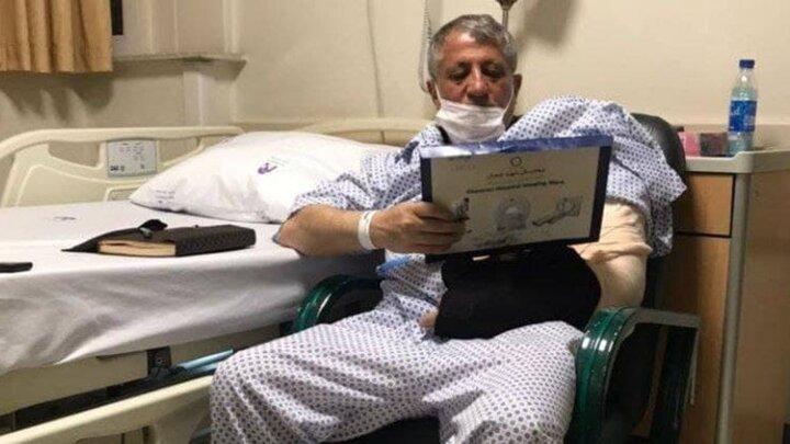 بستری شدن محسن هاشمی در بیمارستان