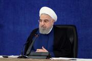 روحانی: پایان تحریم ها نزدیک است / فیلم