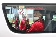 بازگشت کاروان تیم ملی فوتبال به کشور