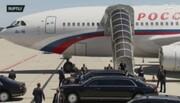 لحظه ورود پوتین به سوئیس / فیلم