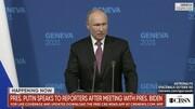 پوتین: بر سر بازگشت سفرا با بایدن به توافق رسیدیم