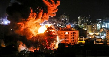جنگندههای رژیم صهیونیستی به غزه حمله کردند