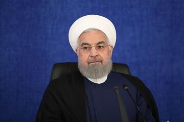 روحانی: اگر دیگران جای ما بودند حتماً امروز همه قطعنامهها بر سر ما میریخت / فیلم