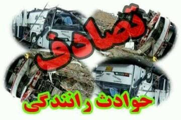 تصادف هولناک در محور زاهدان - خاش / آمار کشتهها اعلام شد