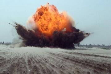انفجار بمب در نزدیکی کارخانه سیمان کربلا