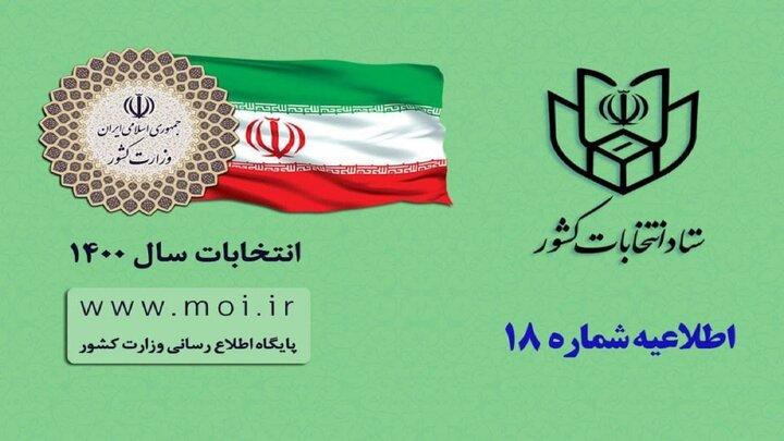 اطلاعیه ستاد انتخابات درباره اعلام انصراف جلیلی