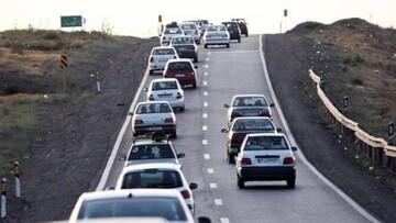 آخرین وضعیت ترافیکی جادههای کشور ۲۷ خرداد ۱۴۰۰ / تردد جادهای ۴.۵ درصد افزایش یافت